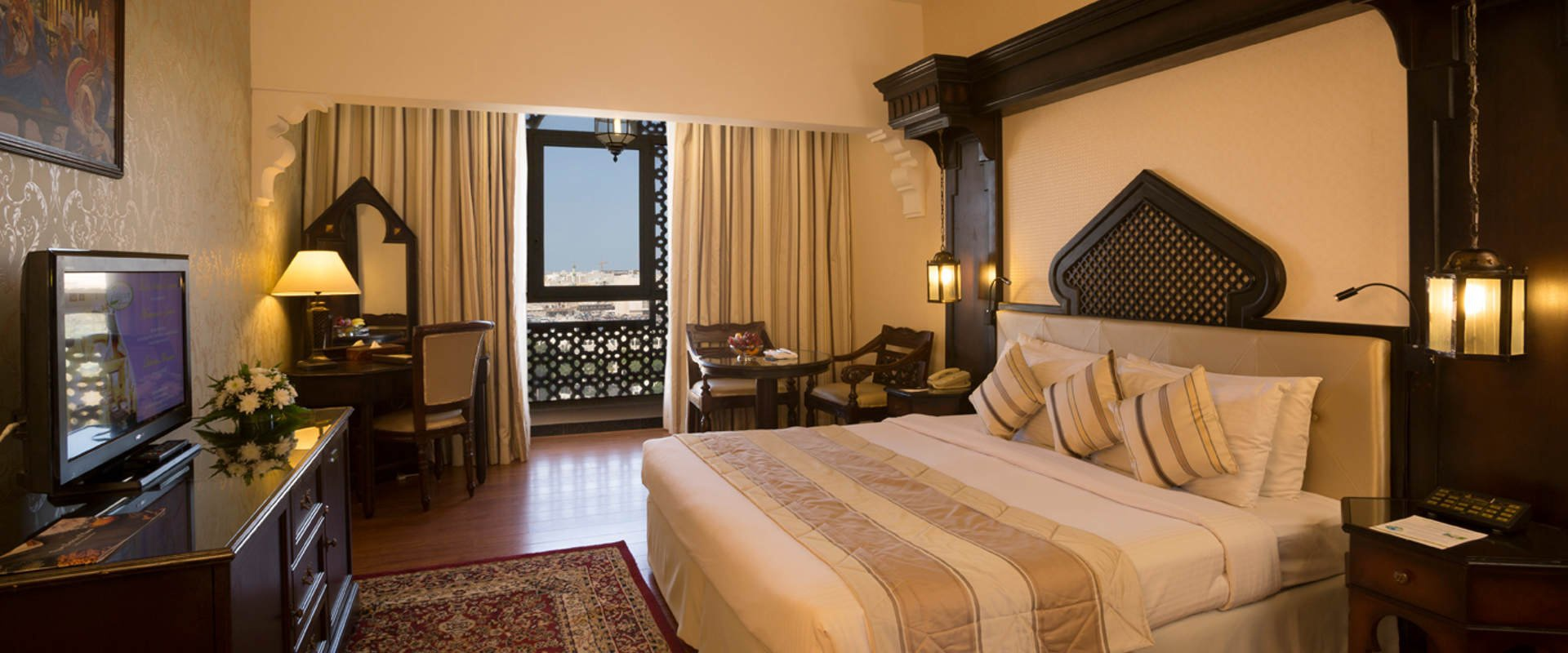 The ideal place to share with the family arabian courtyard hotel & spa bur dubai