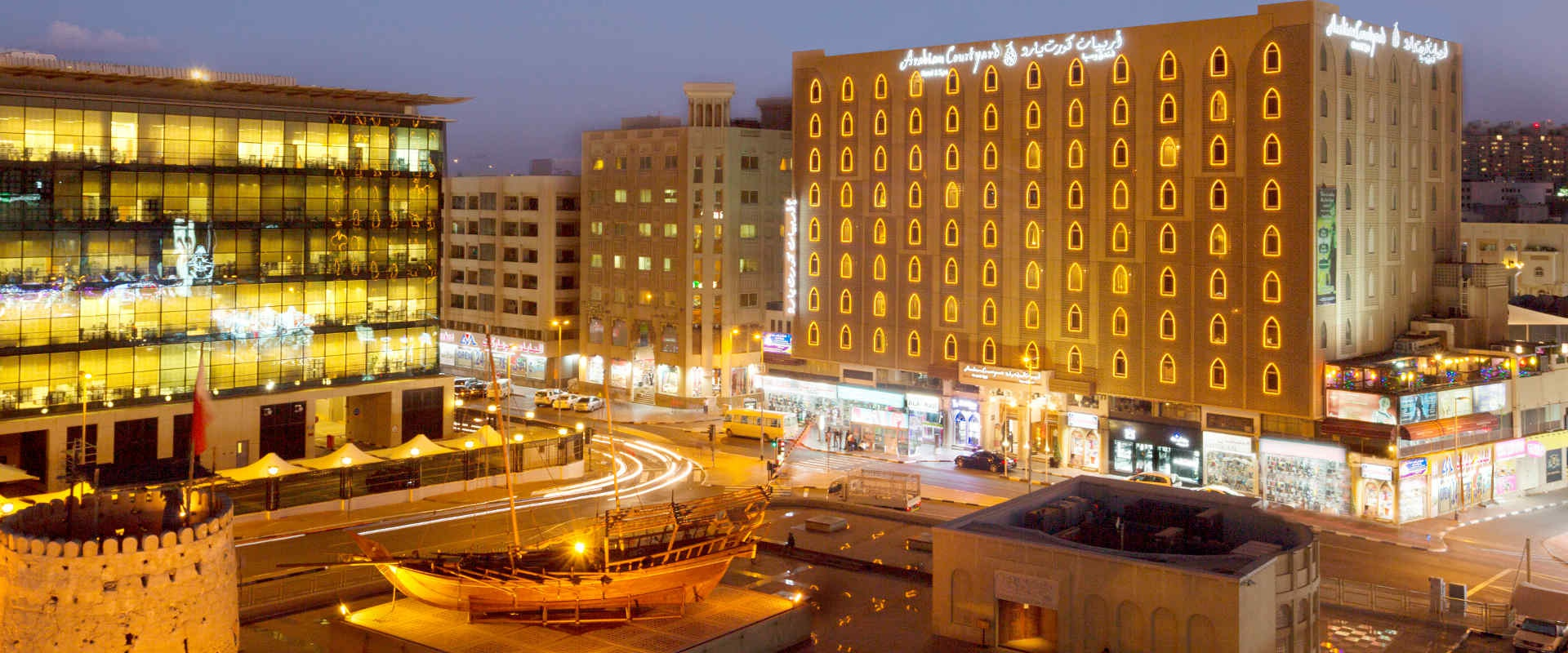 Arabian courtyard hotel official website arabian courtyard hotel & spa bur dubai