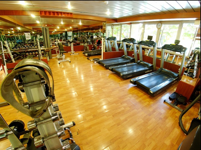 Gym Arabian Courtyard Hotel & Spa Bur Dubai