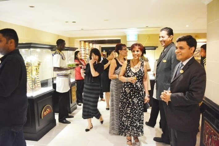 Opening of Pharaoh Café & Restaurant Arabian Courtyard Hotel & Spa Bur Dubai