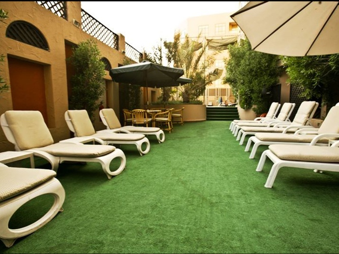 Outdoors Arabian Courtyard Hotel & Spa Bur Dubai