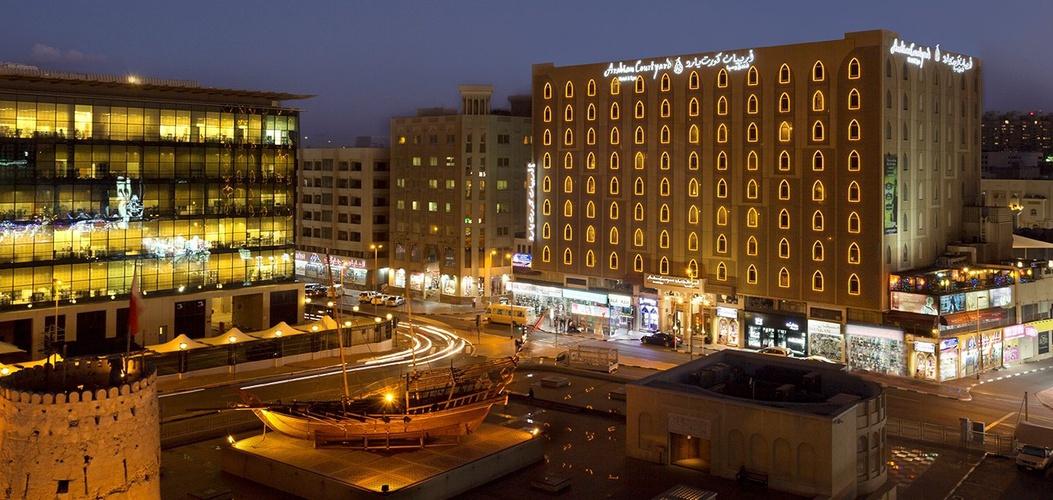 Facade arabian courtyard hotel & spa bur dubai